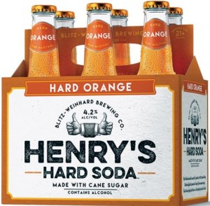Henry Hard Orange Soda
